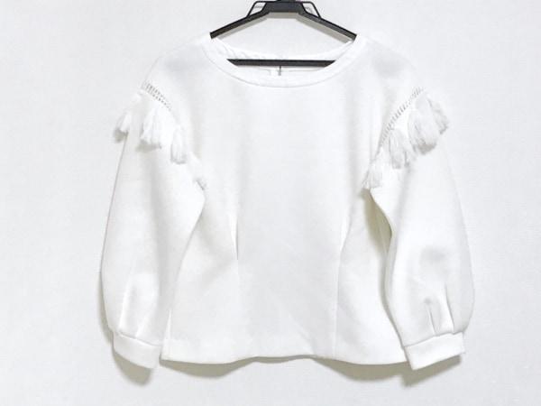 Chesty(チェスティ) 長袖カットソー サイズ0 XS レディース美品  白 後ろジップアップ