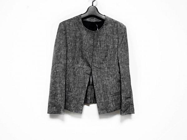 Y's(ワイズ) ジャケット サイズ36 S レディース美品  ダークグレー×グレー