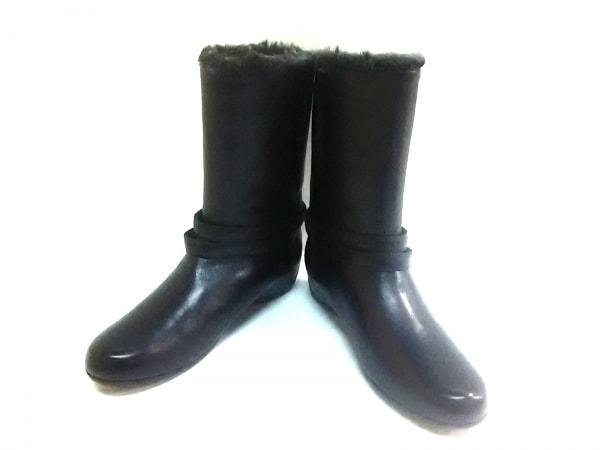 fitfit(フィットフィット) ブーツ 3in1 レディース 黒 レザー