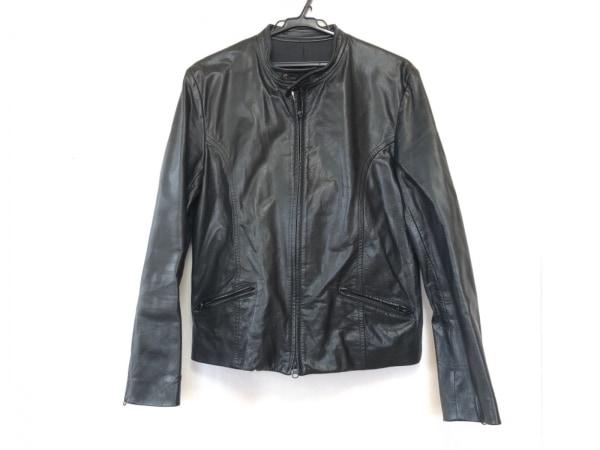 5351 PourLesHomme(5351プールオム) ライダースジャケット メンズ 黒 春・秋物/レザー