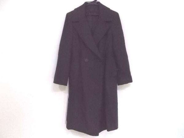 BASILE(バジーレ) コート サイズ40 M レディース ダークブラウン 冬物/BASLE28