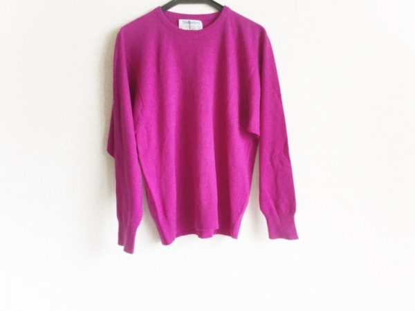 Ballantyne(バランタイン) 長袖セーター サイズ38 M レディース パープル カシミヤ