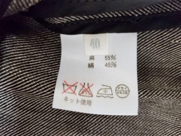 フェロー レディースパンツスーツ サイズ40 M レディース ダークグレー 肩パッド