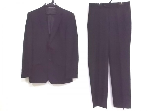 FICCE(フィッチェ) シングルスーツ サイズ48 XL メンズ 黒