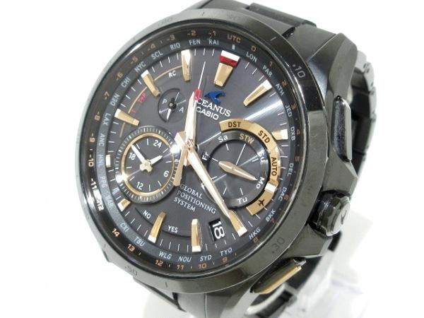 CASIO(カシオ) 腕時計 オシアナス OCW-G1000-1A2JF メンズ 黒