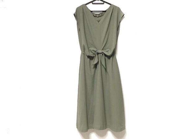 ストロベリーフィールズ ドレス サイズ2 M レディース美品  ダークグリーン