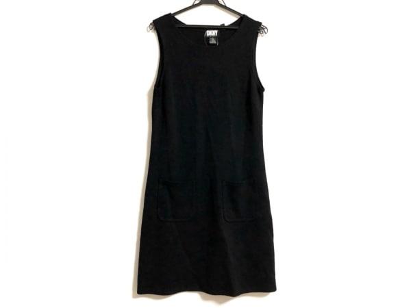 DKNY(ダナキャラン) ワンピース サイズS レディース 黒