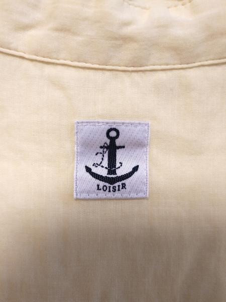 LOISIR(ロワズィール) ワンピース レディース美品  イエロー シャツワンピ
