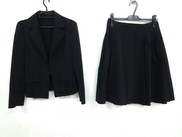 フォクシーニューヨーク スカートスーツ サイズ40 M レディース美品  黒 プリーツ