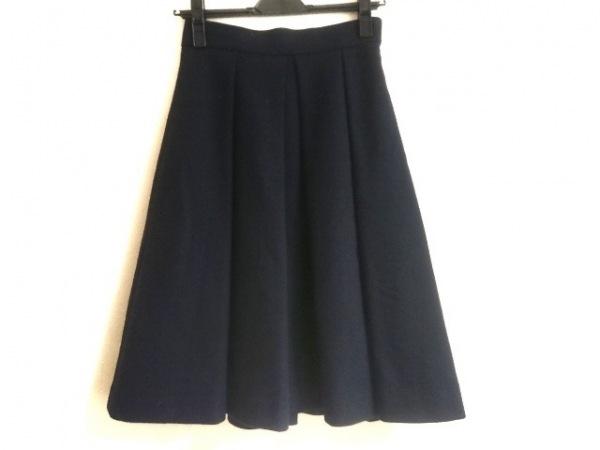 LESTERA(レステラ) スカート サイズ38 M レディース ネイビー