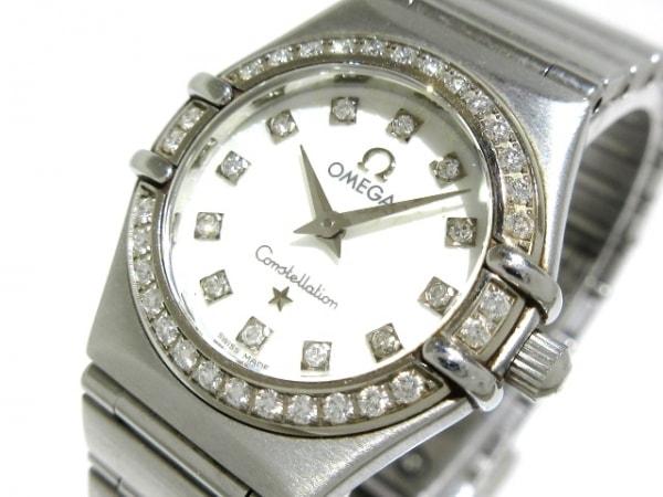 OMEGA(オメガ) 腕時計 コンステレーション ミニ 1460.75 レディース シェルホワイト