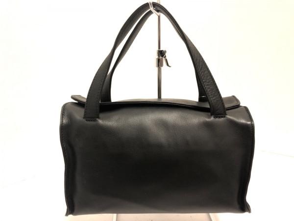 DKNY(ダナキャラン) ハンドバッグ美品  黒 レザー