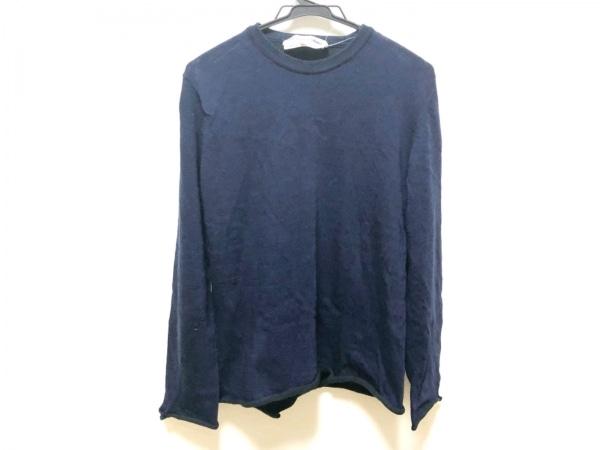 COMMEdesGARCONS SHIRT(コムデギャルソンシャツ) 長袖セーター メンズ ダークネイビー
