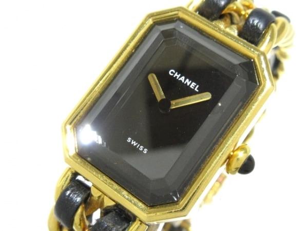 CHANEL(シャネル) 腕時計 プルミエール H0001 レディース Mサイズ 黒