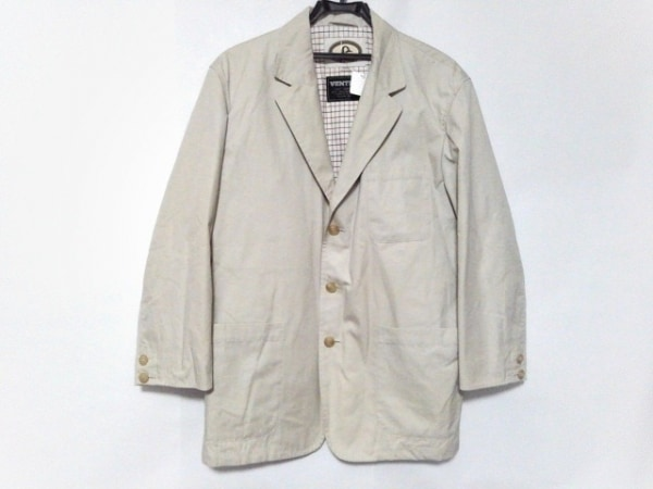 ventile(ベンタイル) ジャケット サイズMEDIUM M メンズ ライトグレー