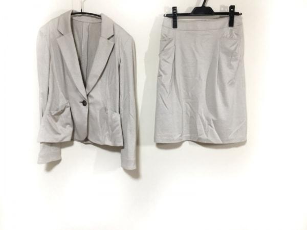 NORD SUD(ノールシュド) スカートスーツ サイズ40 M レディース ベージュ