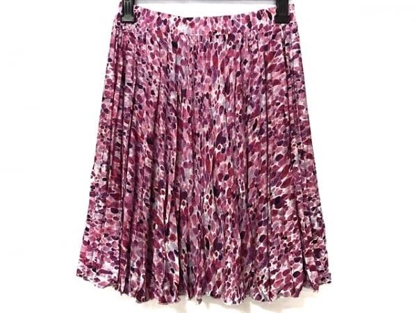 マッシュマニア スカート サイズM レディース新品同様  ピンク×白×マルチ