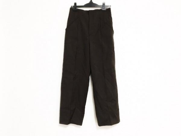 NOBLE(ノーブル) パンツ サイズ38 M レディース ダークブラウン