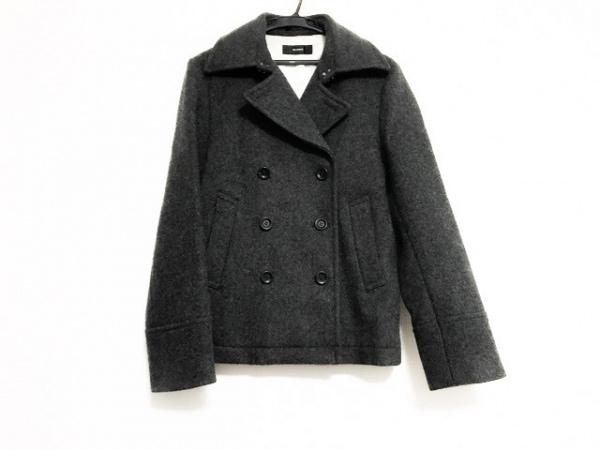 THETWELVE(ザトゥエルブ) コート サイズ46 XL レディース美品  ダークグレー 冬物