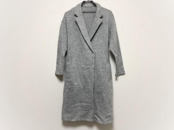 Collage(コラージュ) コート サイズF レディース美品  グレー 冬物