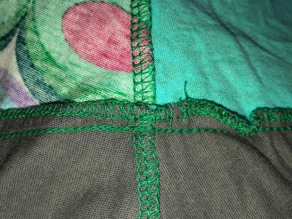 デシグアル ワンピース サイズS レディース ネイビー×グリーン×マルチ 刺繍