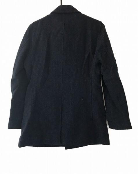 COMME CA MEN(コムサメン) コート メンズ ネイビー×黒 冬物