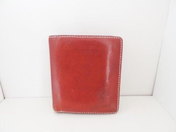 ALBERO(アルベロ) 2つ折り財布 ブラウン レザー
