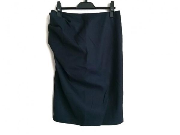 Filo di Seta(フィロディセタ) スカート サイズ40 M レディース 黒