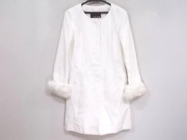CECILMcBEE(セシルマクビー) コート サイズM レディース新品同様  白 冬物