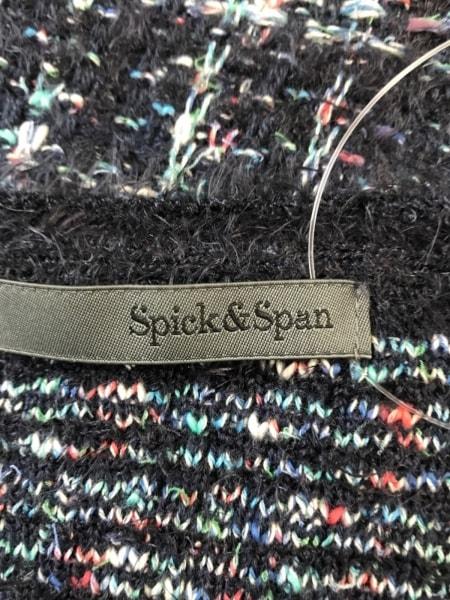 スピック&スパン スカートスーツ サイズ38 M レディース ダークネイビー×マルチ