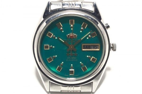 ORIENT(オリエント) 腕時計 EM4J-CO CA メンズ グリーン