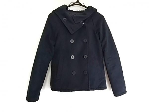 RODEOCROWNS(ロデオクラウンズ) コート サイズ2 M レディース美品  ネイビー 冬物