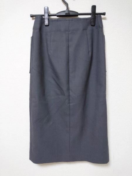 NOBLE(ノーブル) スカート サイズ34 S レディース美品  ダークグレー