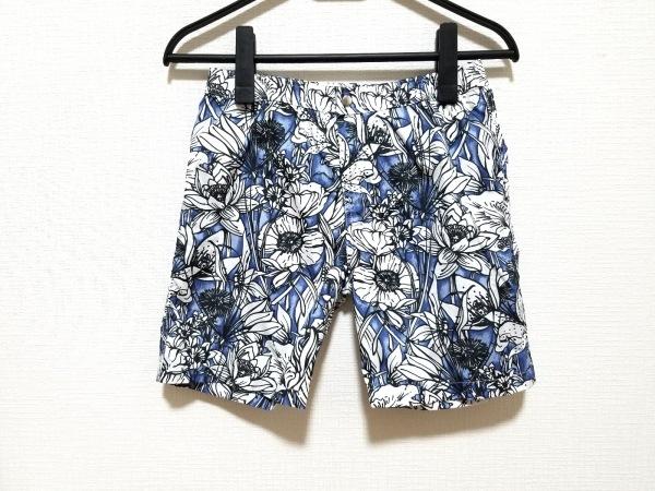 sale retailer cde0e 80fb5 GUCCI(グッチ) ショートパンツ サイズ8 メンズ ブルー×白×黒 子供服/花柄