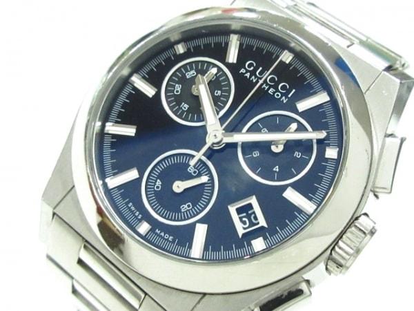 GUCCI(グッチ) 腕時計 パンテオン 115.4 メンズ 黒