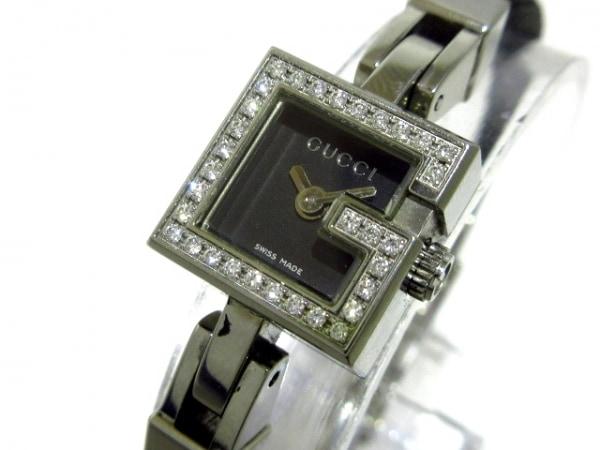 GUCCI(グッチ) 腕時計 102 レディース 黒