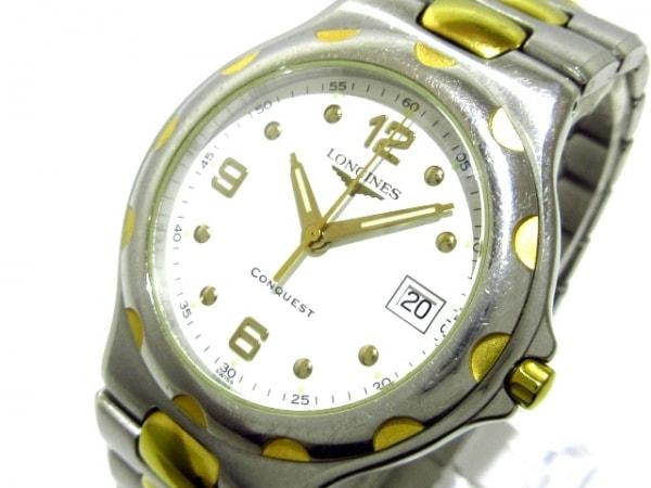 LONGINES(ロンジン) 腕時計 コンクエスト L1.631.3 メンズ 白