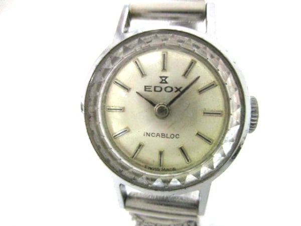 EDOX(エドックス) 腕時計美品  - レディース ゴールド