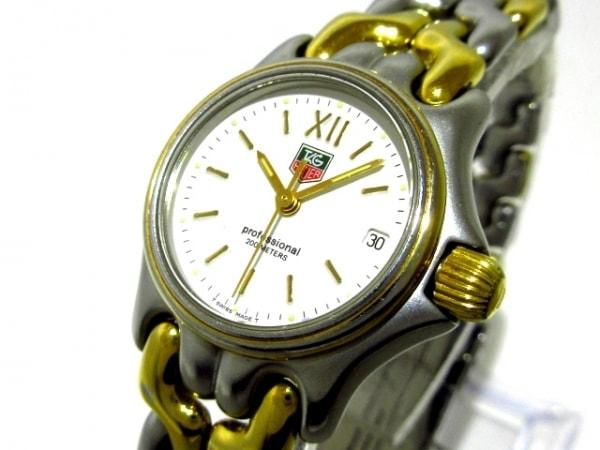 TAG Heuer(タグホイヤー) 腕時計 プロフェッショナル200 S05 008 レディース 白