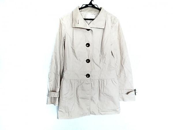anySiS(エニシス) コート サイズ2 M レディース美品  アイボリー 春・秋物