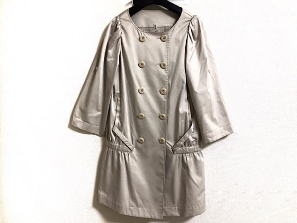 CROLLA(クローラ) コート サイズ38 M レディース ベージュ 春・秋物