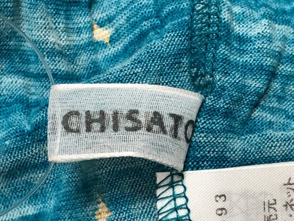 ツモリチサト スカート サイズ2 M レディース ブルー×ベージュ×マルチ