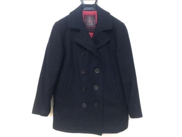 J.PRESS(ジェイプレス) Pコート サイズ9 M レディース 黒 冬物