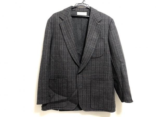 ミラショーン ジャケット サイズ48 M メンズ美品  グレー×ブラウン×レッド