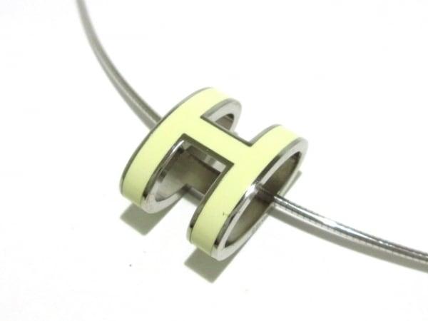 HERMES(エルメス) ネックレス ポップアッシュ シルバー×金属素材