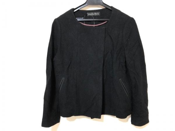 グリーンレーベルリラクシング ジャケット サイズ38 M レディース 黒