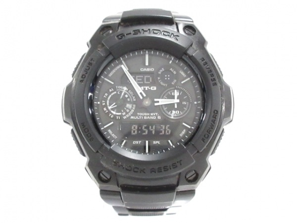 CASIO(カシオ) 腕時計美品  G-SHOCK MT-G MTG-1500B メンズ 黒