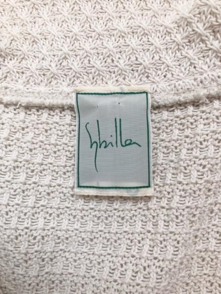 Sybilla(シビラ) ジャケット サイズL レディース美品  ベージュ ニット