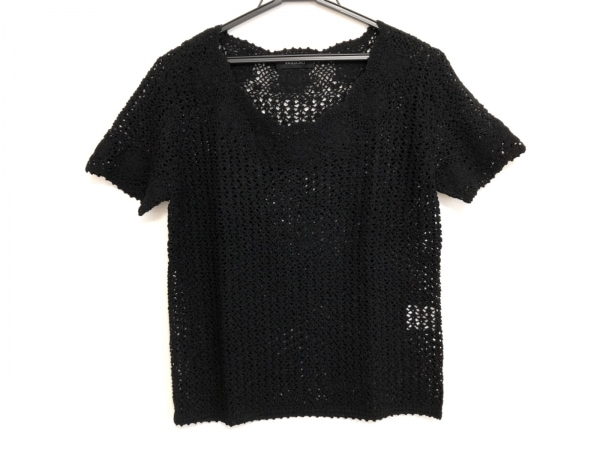 INGEBORG(インゲボルグ) 半袖セーター レディース美品  黒