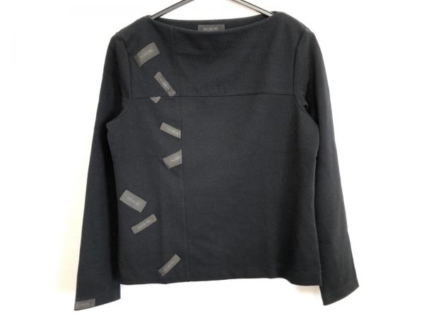 インゲボルグ 長袖セーター サイズL レディース ダークネイビー×ダークグレー